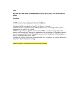 acc 380 accounting for not for profit organizations