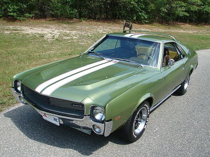 1969 American Motors Amx 390 Ci Young Ladies Can Love