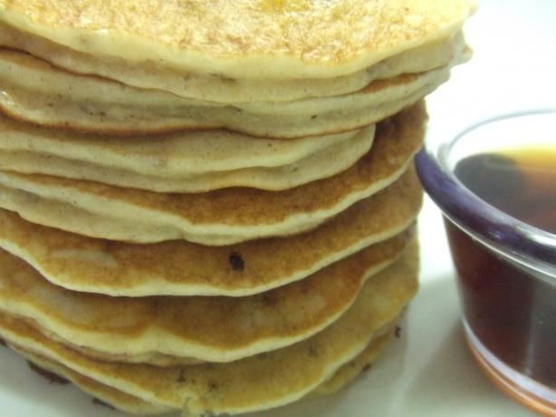 Banana-Nut Pancakes Yum | Recipe