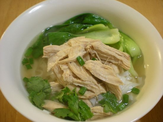 chinese chicken noodle soup | Chinese Food | Pinterest
