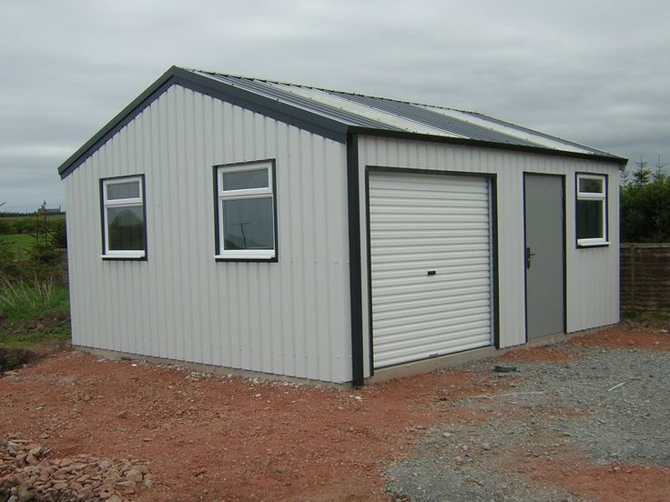 How Much Are Steel Garages : Pin by steel buildings on portable