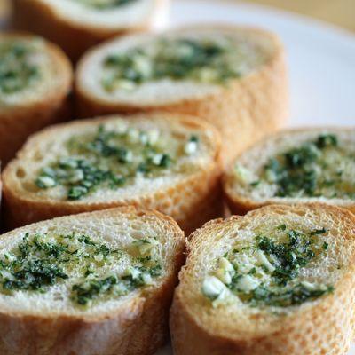 HD ] Simple Garlic Bread Recipe | FOOD! | Pinterest
