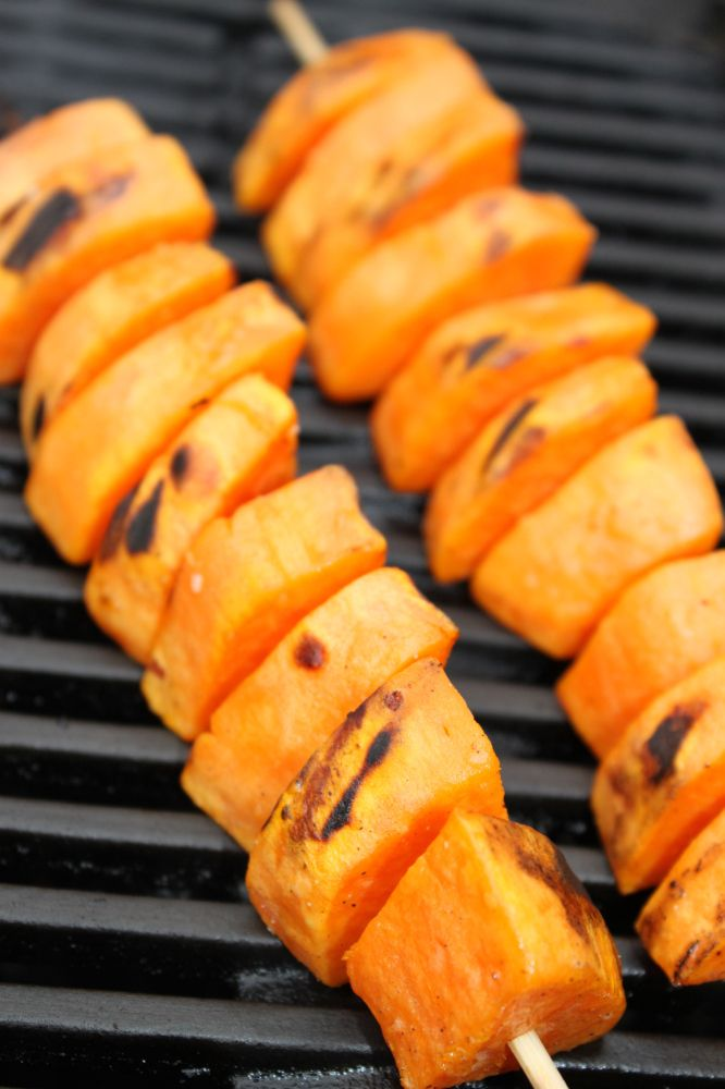 Grilled Sweet Potatoes | Grill recipes | Pinterest