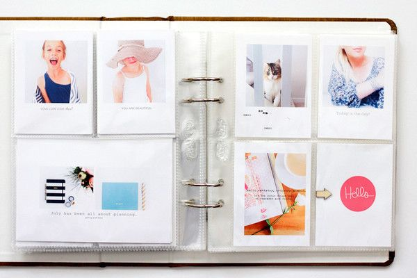 Project Life - Summer Handbook by PaperInBloom at @studio_calico