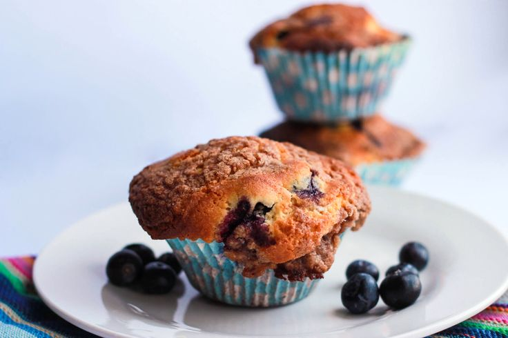 for Blueberry Crumb Cake Muffins combines two classics - Crumb Cake ...