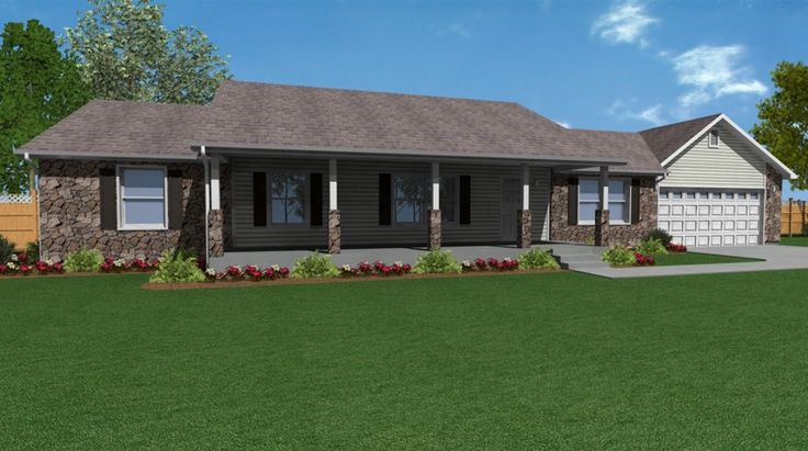 13 spectacular stick built home plans kelsey bass ranch for Stick built home plans