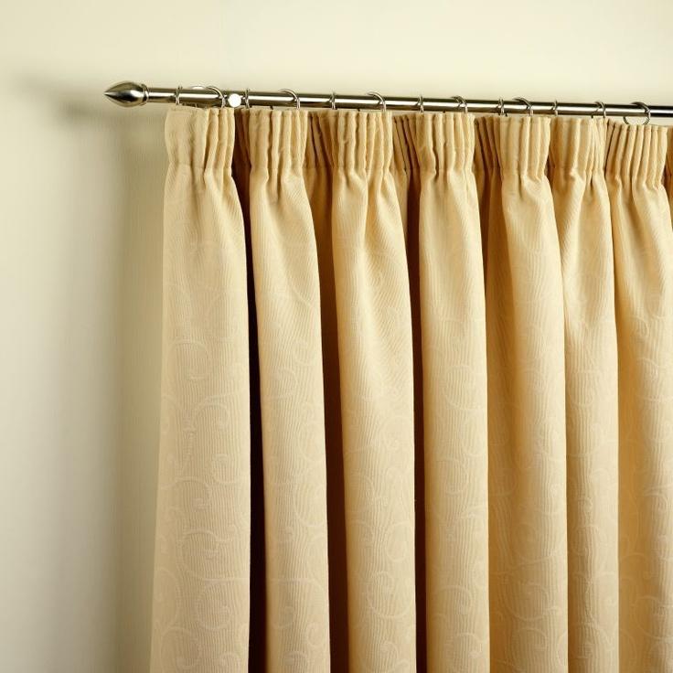 Pencil Pleat Curtains | Curtains | Pinterest