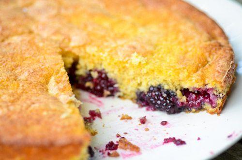 blackberry buttermilk cake | Favorite Recipes | Pinterest
