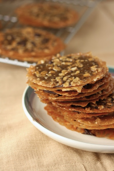 chocolate oatmeal lace cookies | Recipes | Pinterest