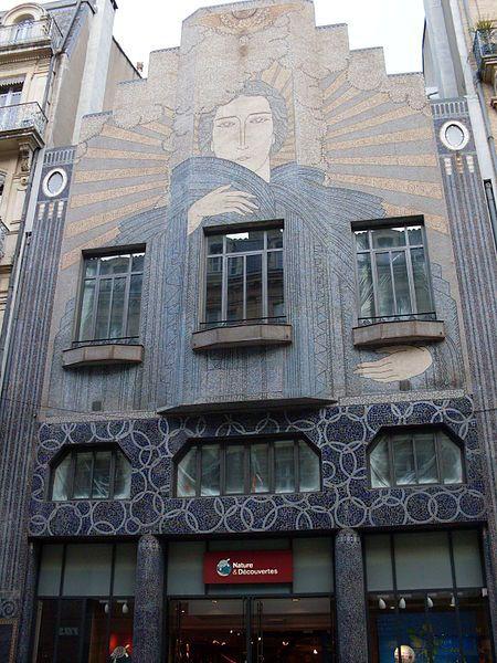 Art Deco Facade, Toulouse ~  I love FRANCE!  Pinterest