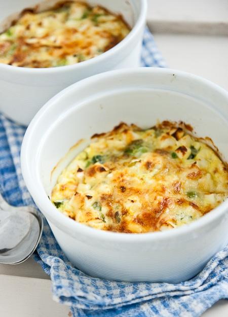 spinach feta clafoutis | yummmm | Pinterest