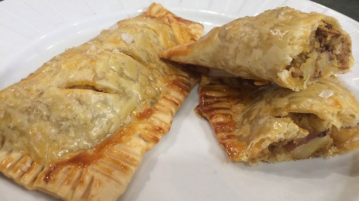 Irish Beef Hand Pies. Great! Double the batch. Use 4 homemade pie ...