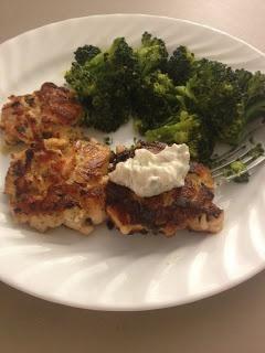 Salmon Burgers with Green Yogurt Sauce - Pain Free Kitchen | Yummers ...