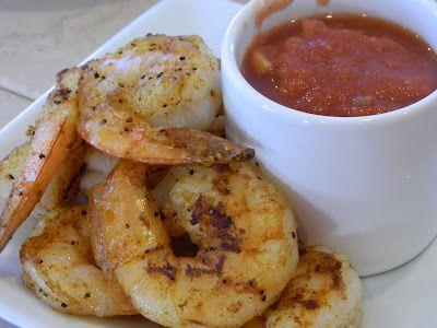 Cajun Shrimp with Creole Cocktail Sauce | Primal Bites