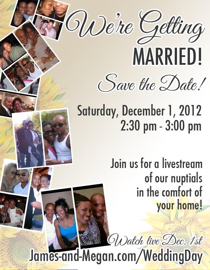 Save The Date Digital Invite