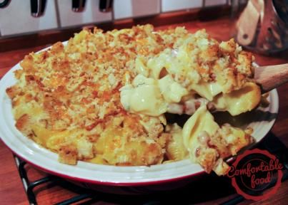bacon, cheddar & jalapeno mac 'n cheese | comfortable food