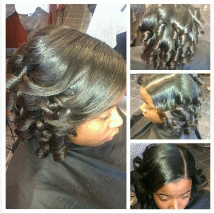 Press and curl. | Natural hair | Pinterest