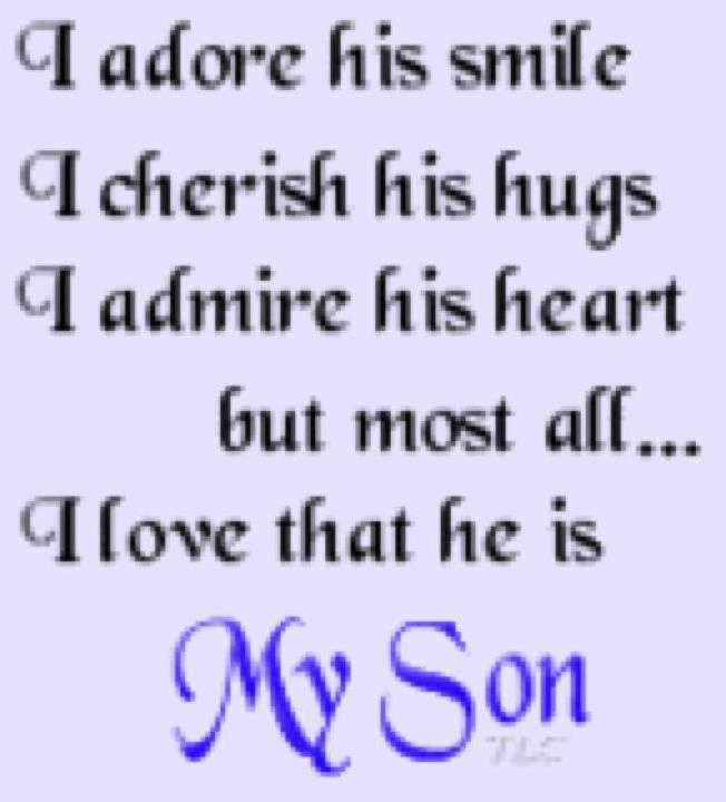 I Love You Like Xo Quotes : love my son James!!! xo