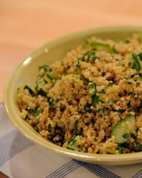 Quinoa and Cucumber Salad - Martha Stewart Recipes