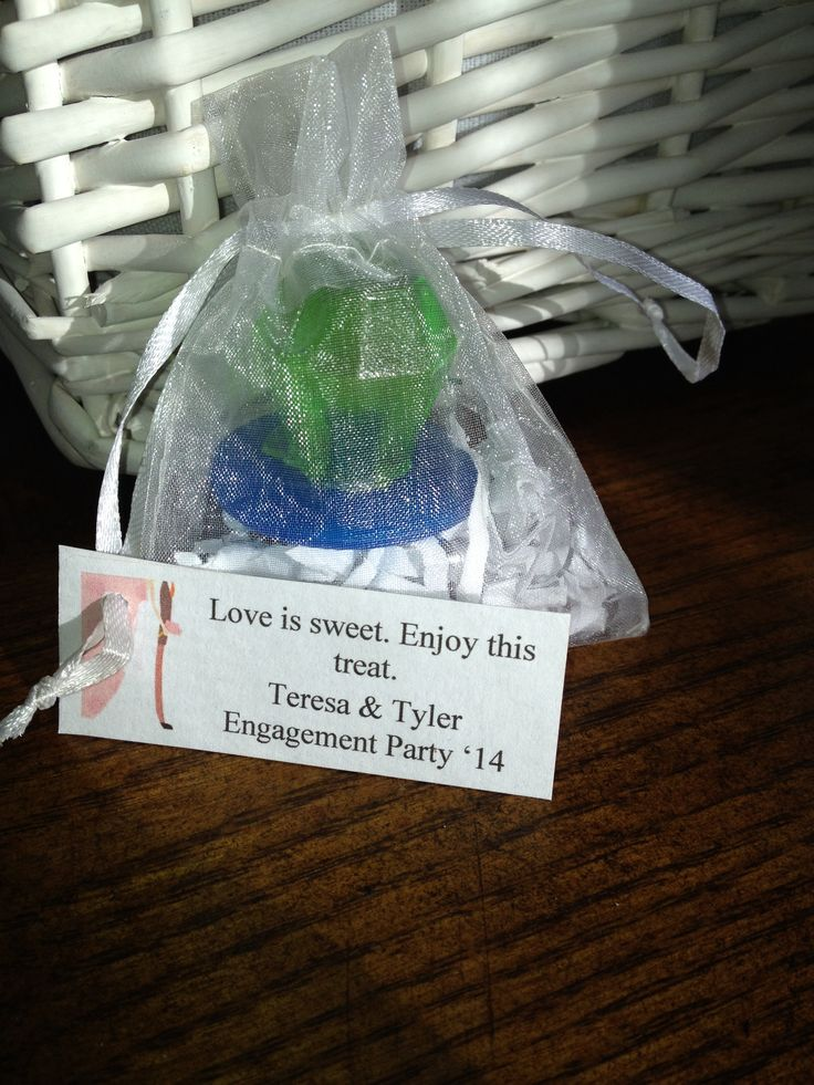 ring pop engagement favors ring pops
