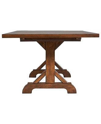 Mandara Dining Table Dining Room Furniture Furniture Macy 39 S 899
