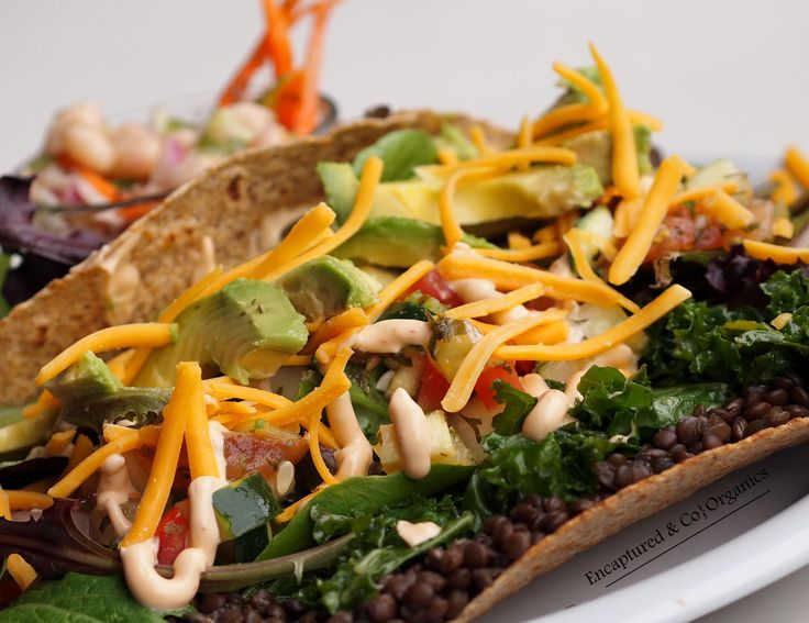 ... White Bean & Veggie Salad, Cucumber Kiwi Salad with Melon, or a