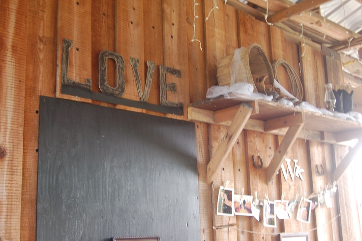 Quot Love Quot Sign Cut Out Of Sheet Metal Wishing Well Barn