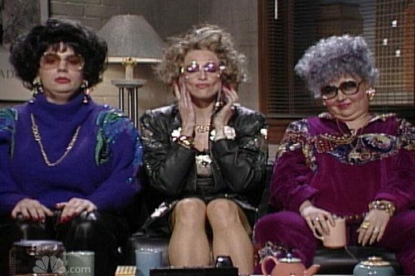 Mike Myers as Linda Richman - SNL Time for Coffee Talk ...