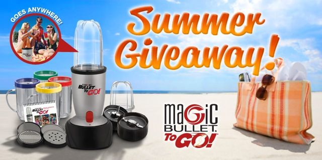 Magic Bullet To Go Summer Giveaway