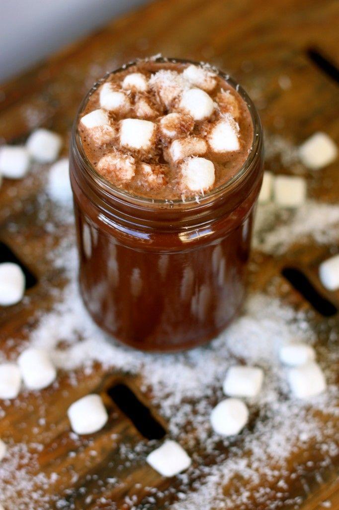 Coconut Water Hot Chocolate (vegan, gluten-free) -- The Diva Dish