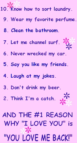 10 reasons why youre never