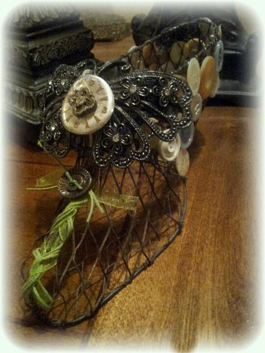 Handmade steampunk shoe decor for sale Steampunk Pinterest