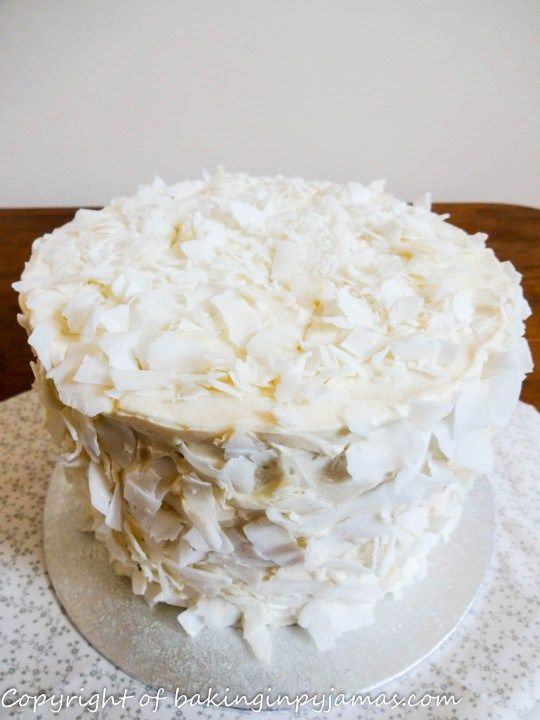 Coconut Scented Mini Layer Cake | Cakes and their coverings | Pintere ...