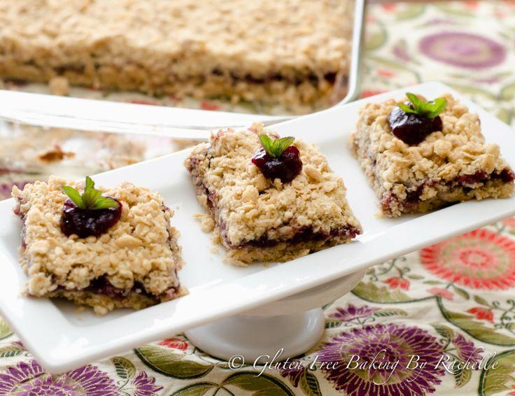 Gluten free Blackberry Bars | Recipe