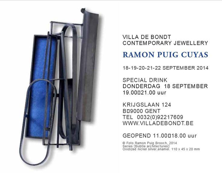 EXPO - Villa de Bondt - Ramon Puig Cuyas