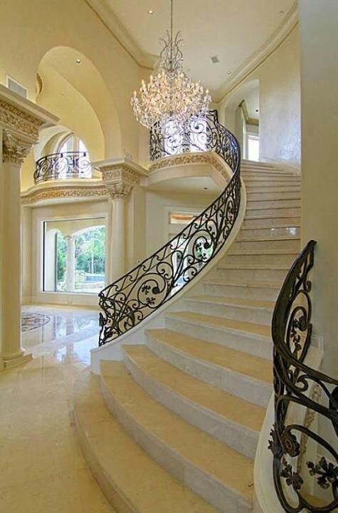 Beautiful Staircase Interior Beautiful Staircase For The Home Pinterest