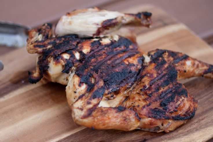 Grilled, Butterflied Chicken @Matty Chuah Domestic Man