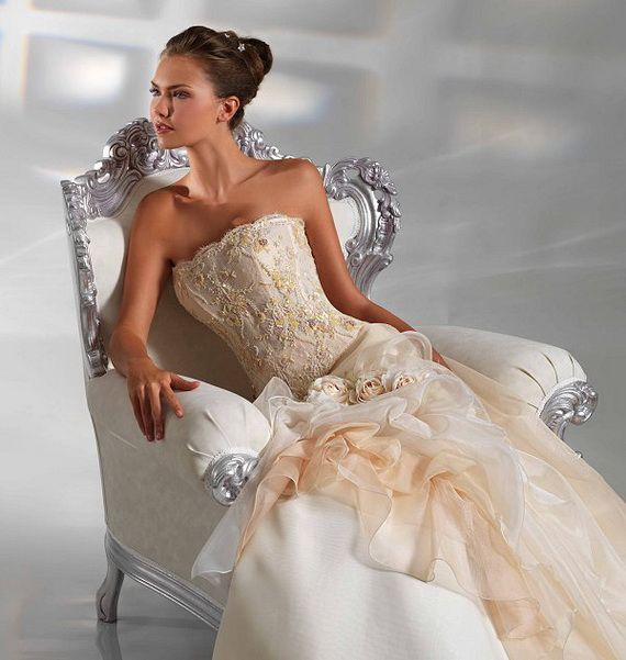 Italian bridal dress wedding dresses pinterest for Italian wedding dress designers list
