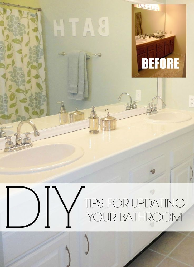 diy bathroom ideas cheap - Google Search