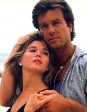 Nina Cortlandt Warner and Cliff from AMC