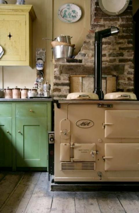 Vintage Victorian Kitchen For The Home Pinterest