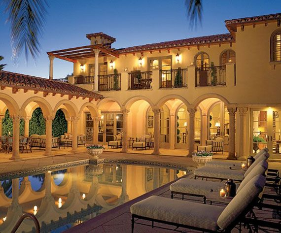 Classic Mediterranean Architecture Dream Home Spanish