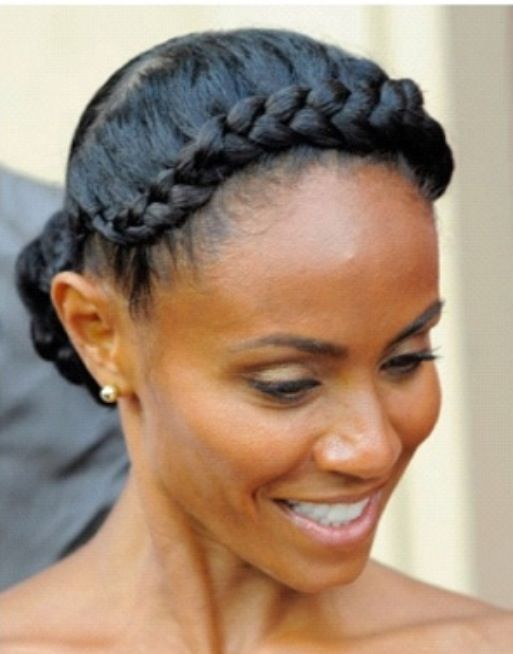 hairstyles for black hair spherical face