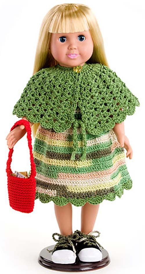 Платье для куклы — работа