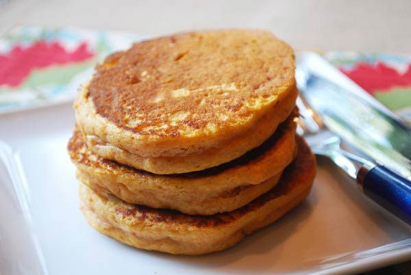 Greek Yogurt Pumpkin Pancakes- yummy! | Recipes tried/reviews | Pinte ...