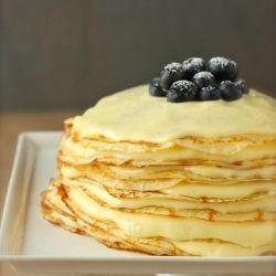 Meyer Lemon Curd Crepe Cake | Sweetness | Pinterest