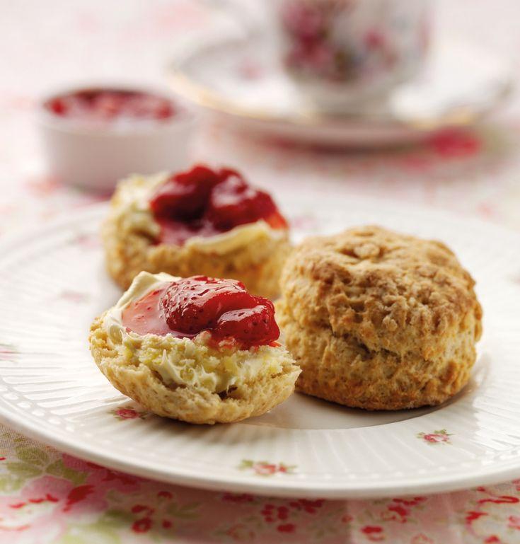Gluten Free Scones Recipe | BakingMad.com Replace sugar with stevia ...