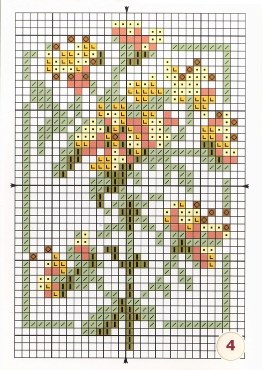 Gallery.ru / Фото #3 - Лекарственные растения Моя вышивка - Mosca