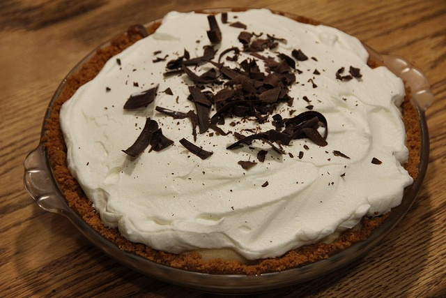Chocolate custard and rum chiffon pie | Recipe Ideas! | Pinterest
