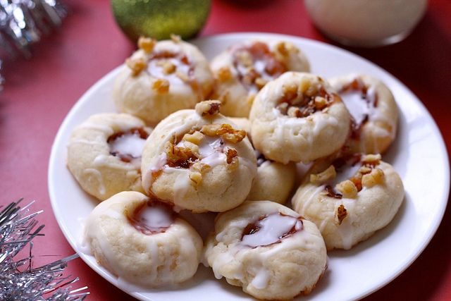 raspberry thumbprints - a tried-and-true, eggless recipe that my ...